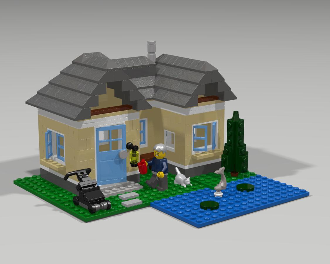 lego ideas product ideas suburban house