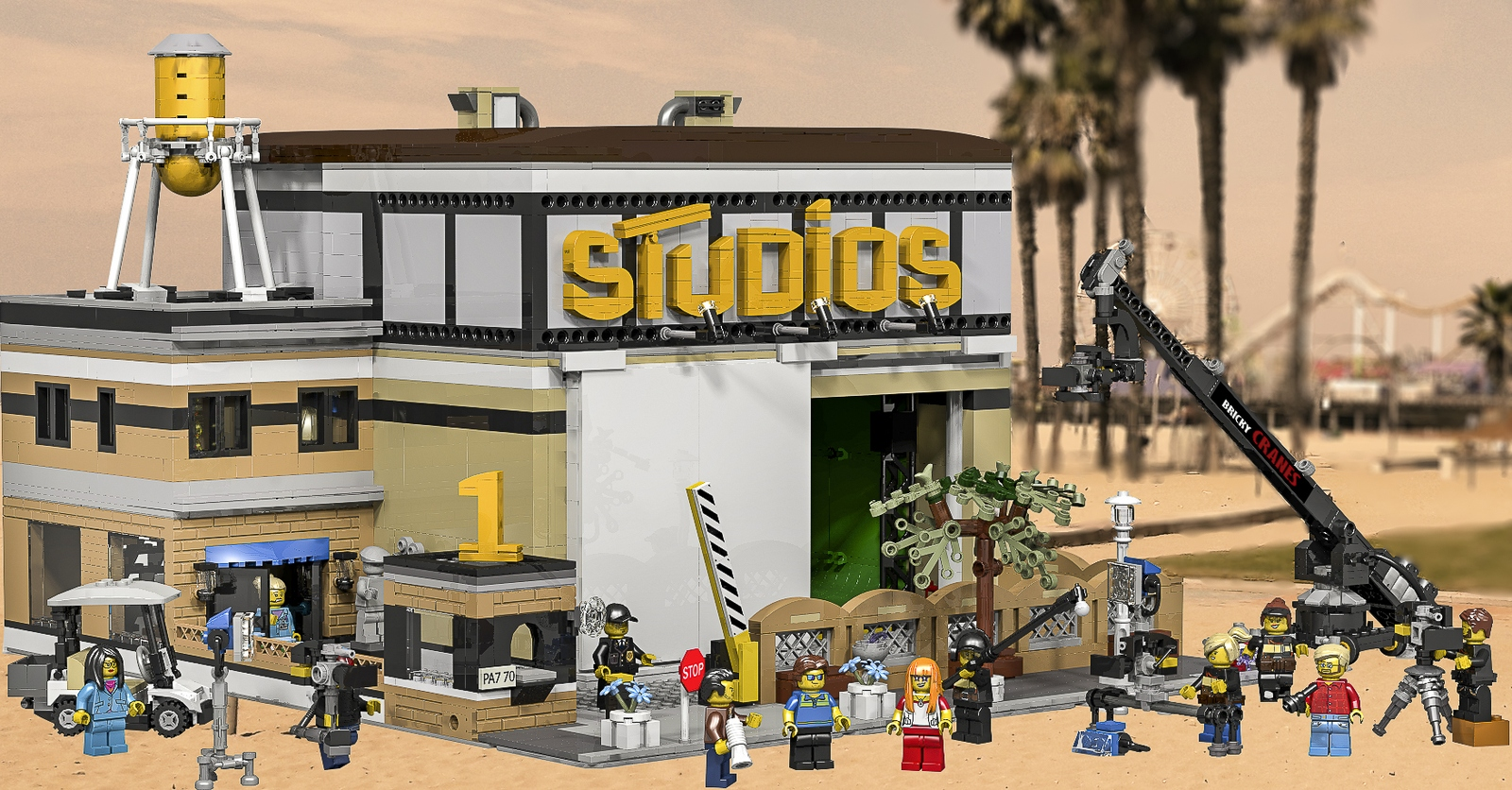 Lego Ideas Product Ideas Modular Film Studio