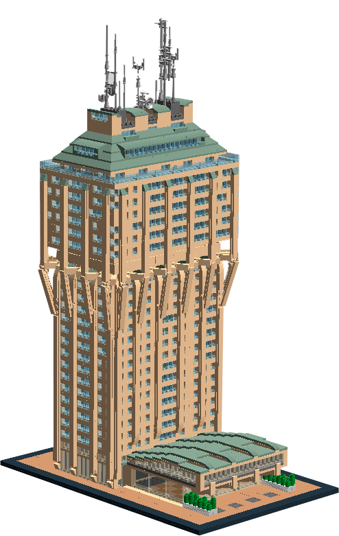 Lego Ideas Product Ideas Architecture Torre Velasca Milan