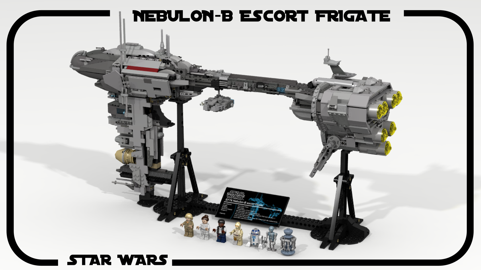 Lego Ideas Product Nebulon B Escort Frigate 7665 Star Wars Republic Cruiser