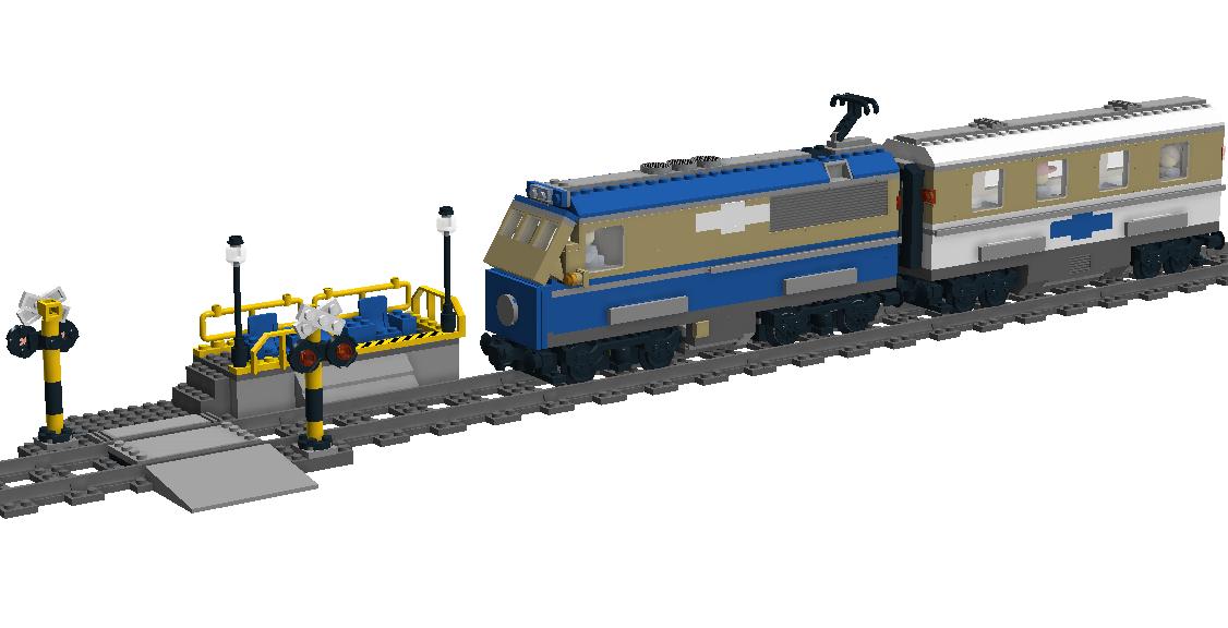 LEGO IDEAS - Product Ideas - City Passenger Train MOC