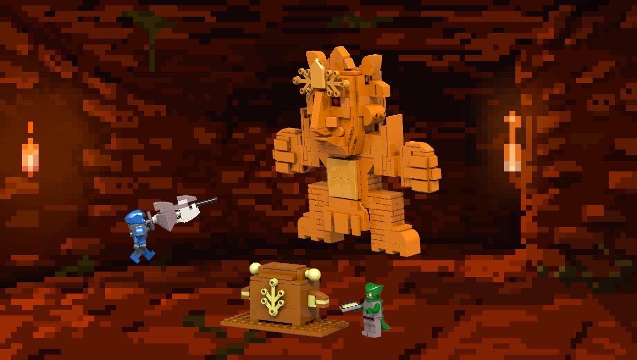LEGO IDEAS - Product Ideas - Terraria Golem Temple Fight