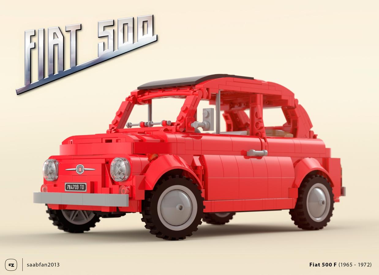 Lego Ideas Product Ideas Fiat 500 F