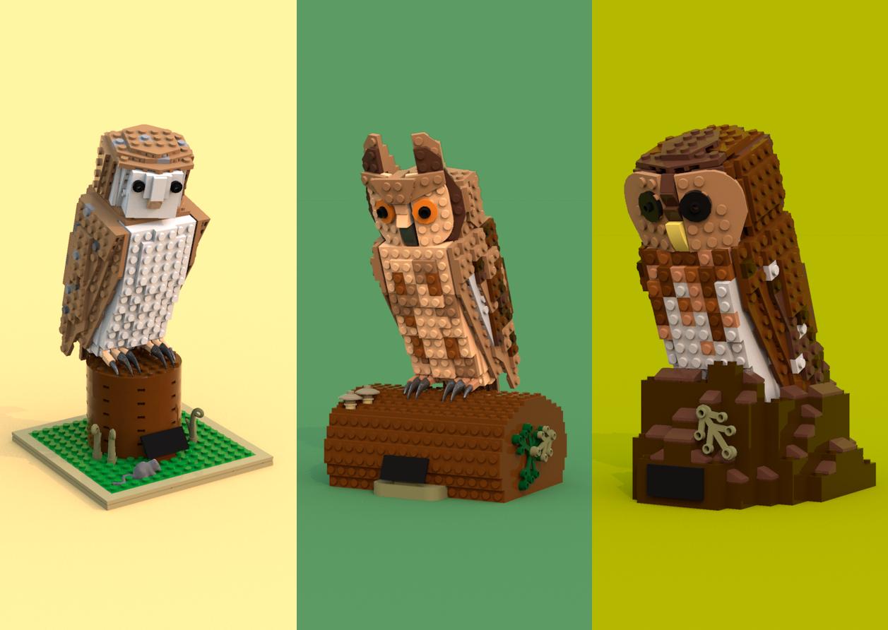 Lego Ideas Product Ideas Lego Owl Project