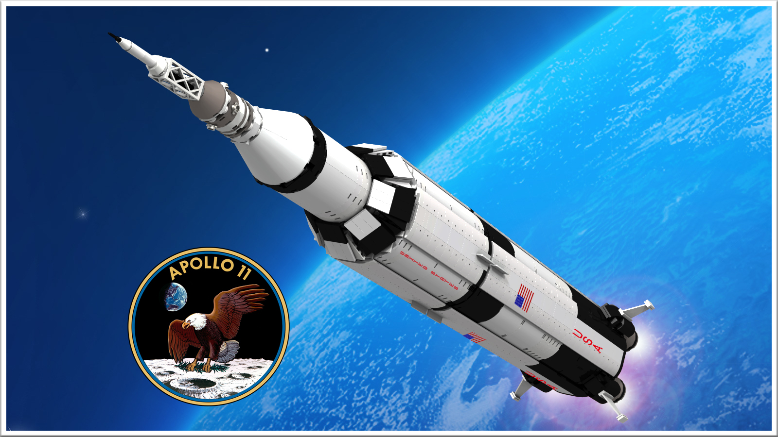 Lego Ideas Product Ideas Apollo 11 Saturn V