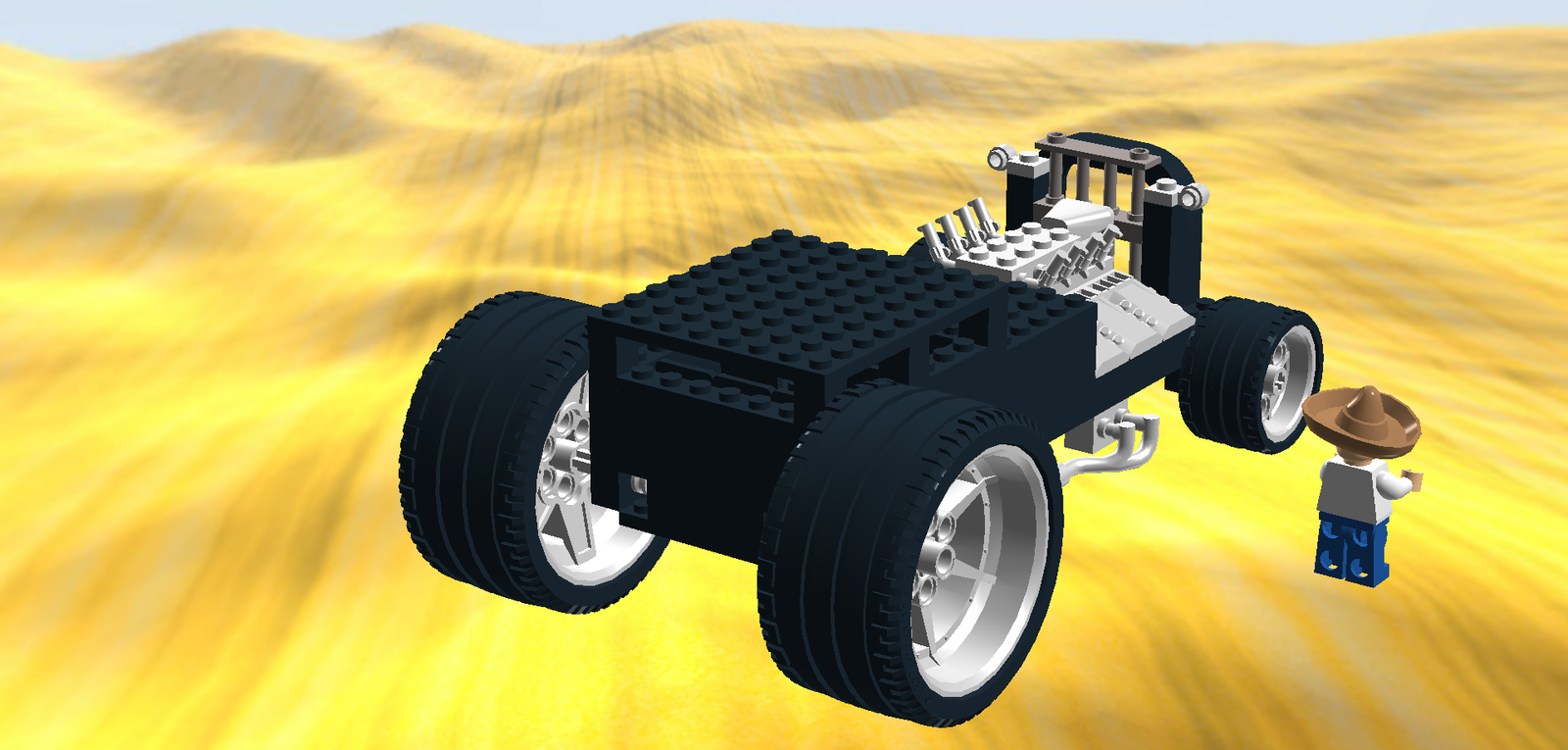 Lego Ideas Product Ideas Hot Rod