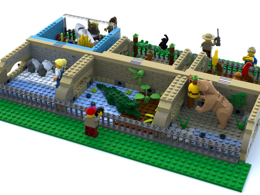 LEGO IDEAS - Product Ideas - City Zoo