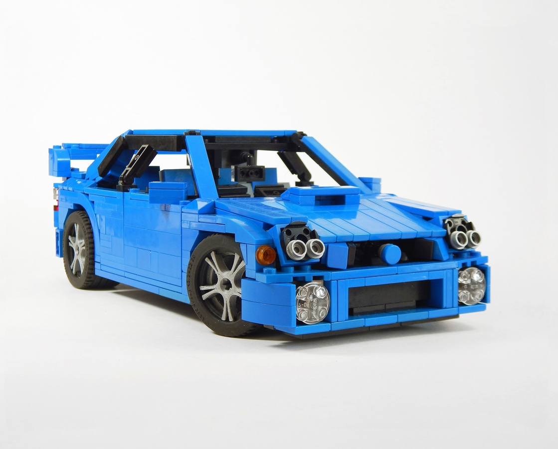 Lego Ideas Product Ideas 2001 Subaru Wrx Sti
