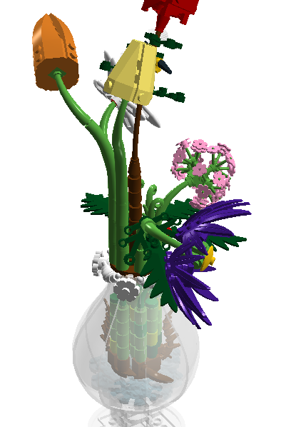 Lego Ideas Product Ideas Flower Pot