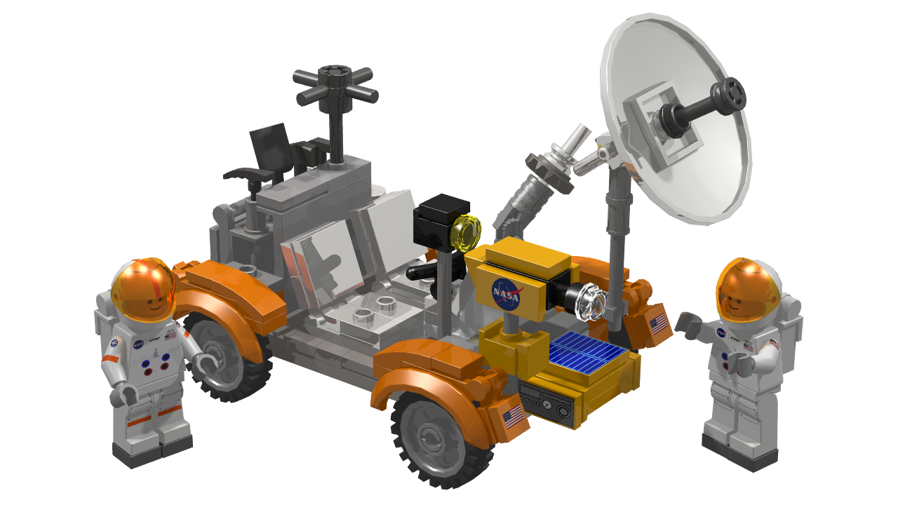 space adventure lunar rover - photo #37