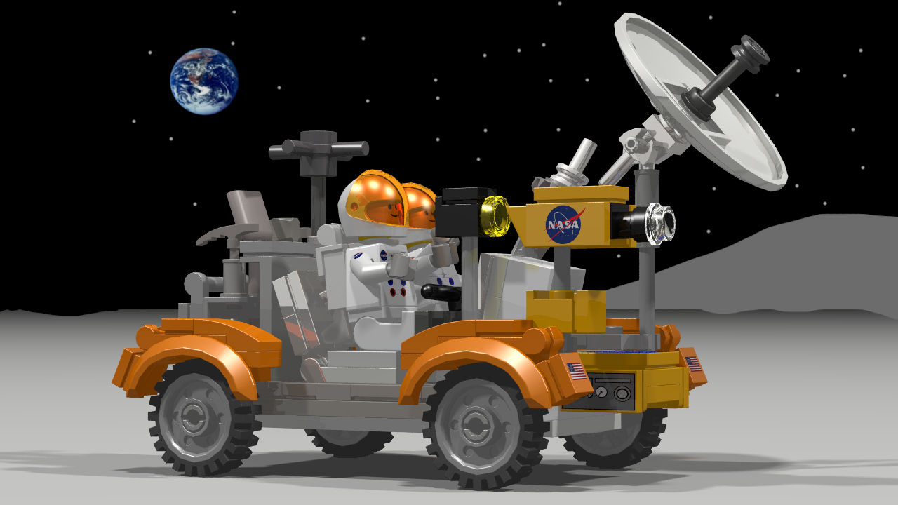 space adventure lunar rover - photo #24