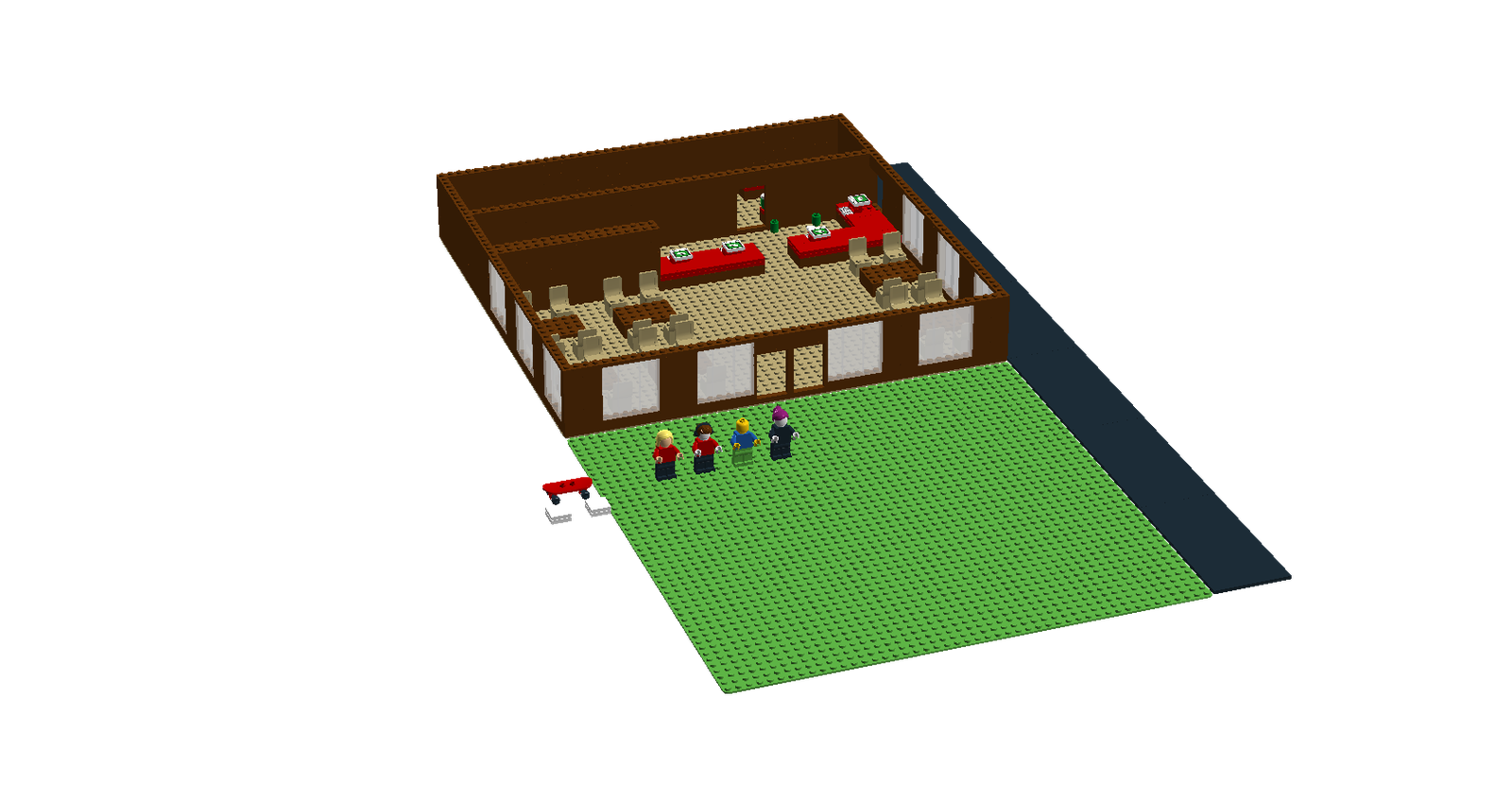 Lego Ideas Product Ideas Lego Roblox Work At The Pizza Place