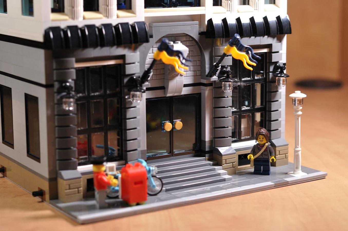Lego Ideas Product Ideas Police Headquarters Modular Building