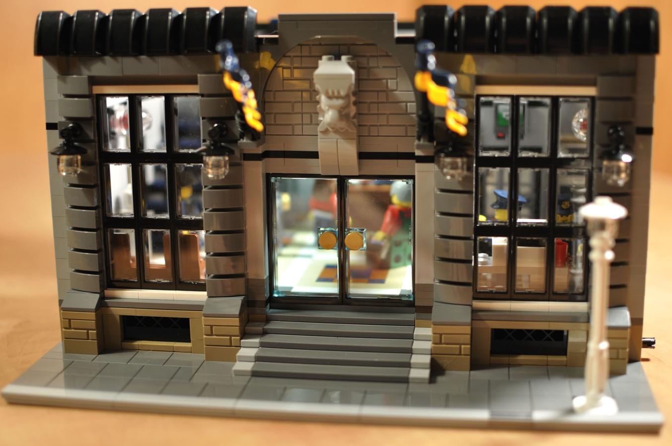 Lego Ideas Product Police Headquarters Modular Building 7744
