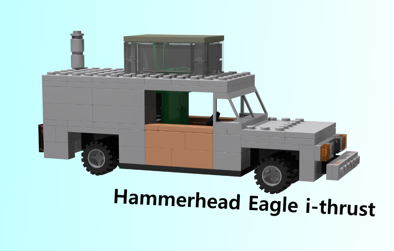 Lego Ideas Product Ideas Top Gear Hammerhead Eagle I