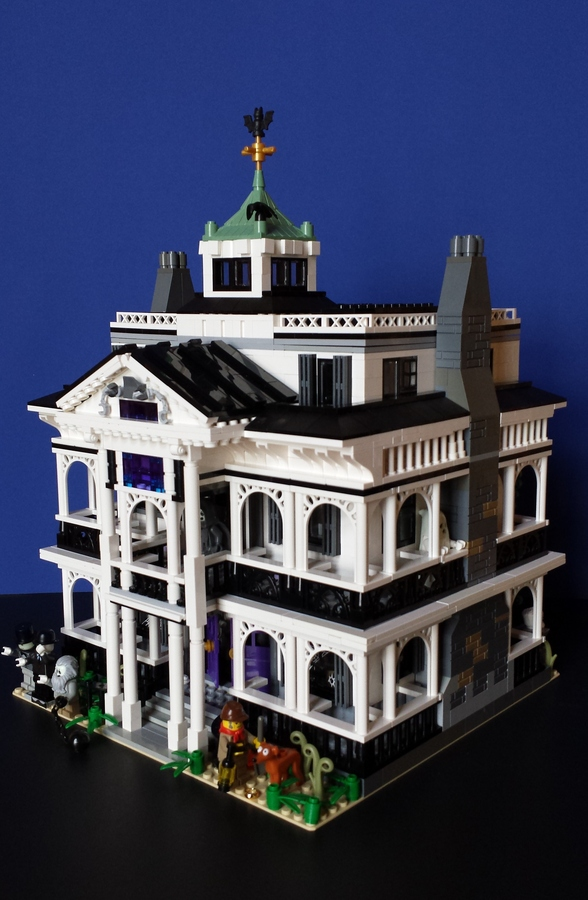 Lego Ideas Product Ideas Disneylands Haunted Mansion