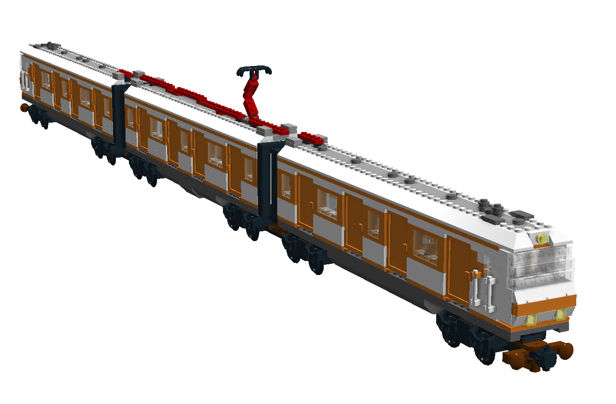 LEGO IDEAS - Product Ideas - BR 420 Orange