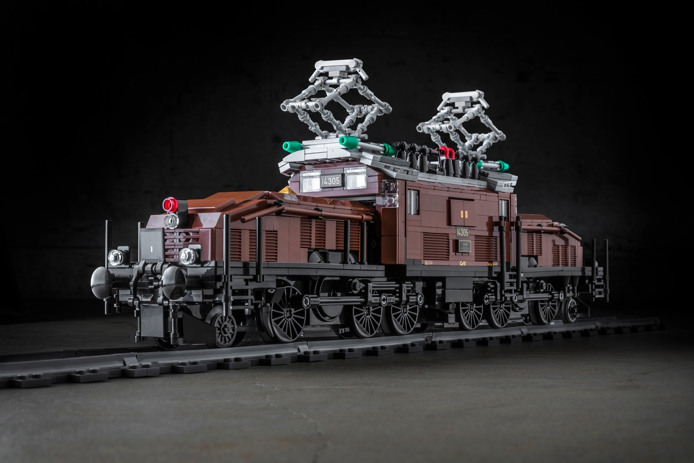 LEGO IDEAS - Product Ideas - Crocodile Locomotive SBB Ce 6/8 III