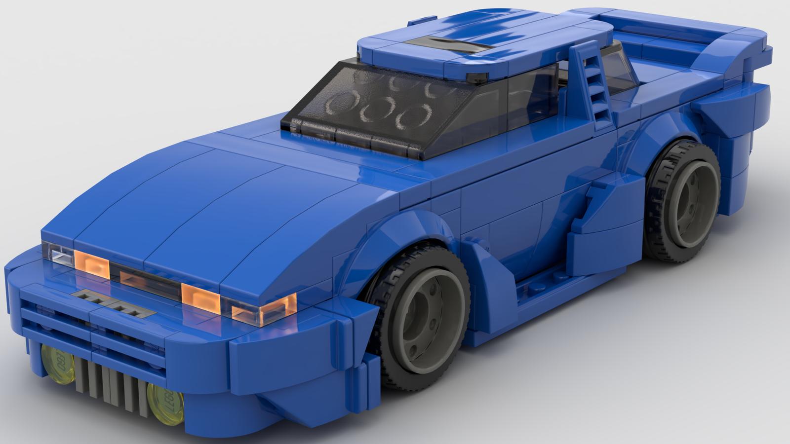 LEGO IDEAS - Product Ideas - Silego - Nissan Silvia S13 Lego Style