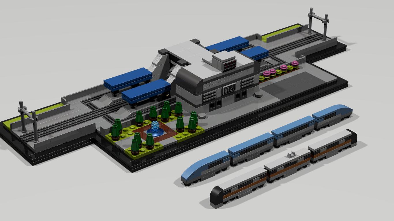 Lego Ideas Product Ideas Micro Train