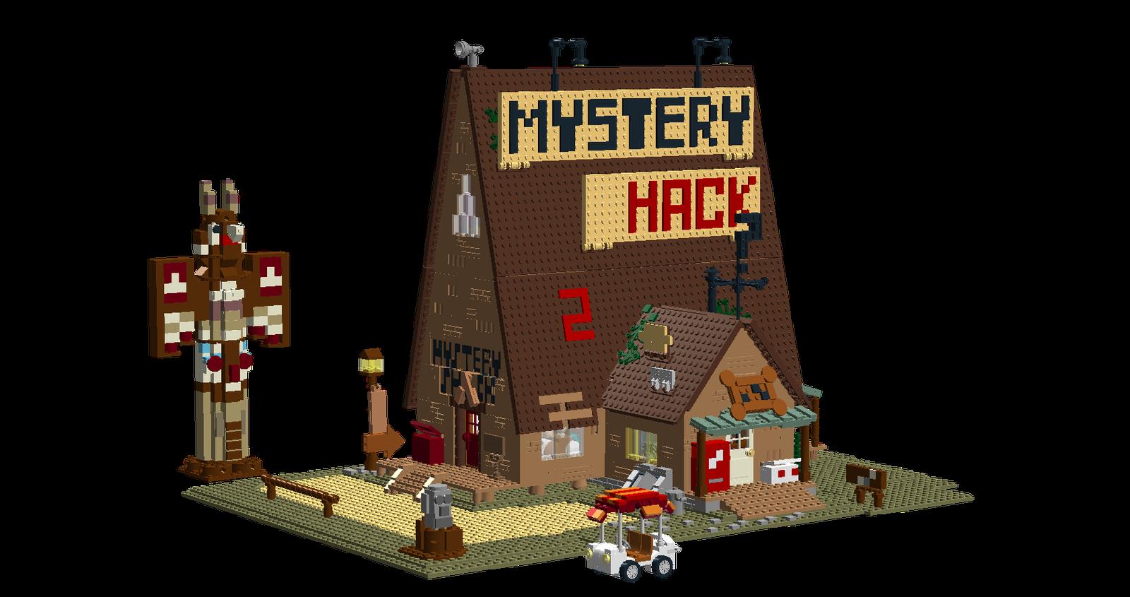Mystery Shack Gravity Falls