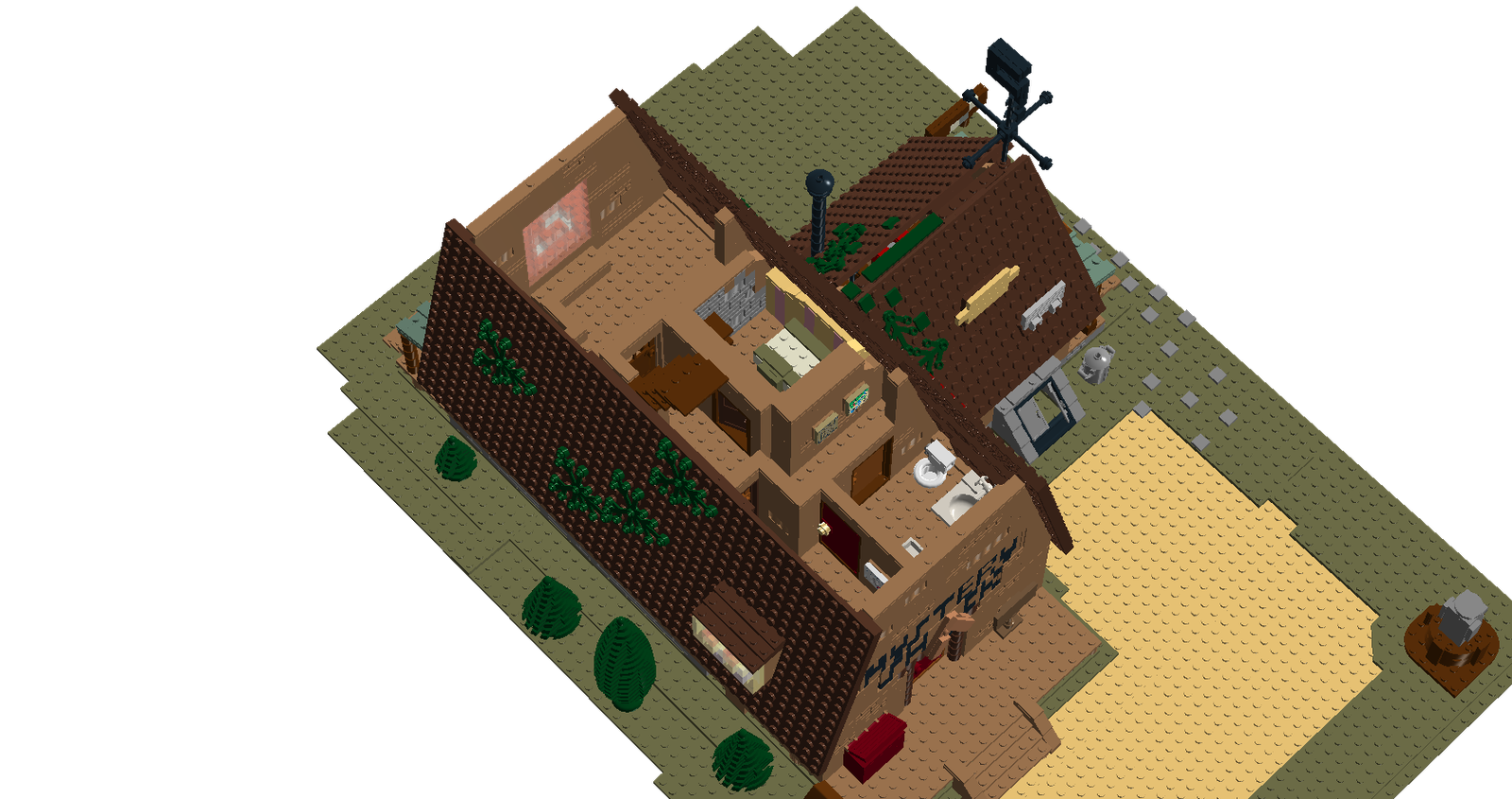 Lego Ideas Product Ideas Mystery Shack Quot Gravity Falls Quot