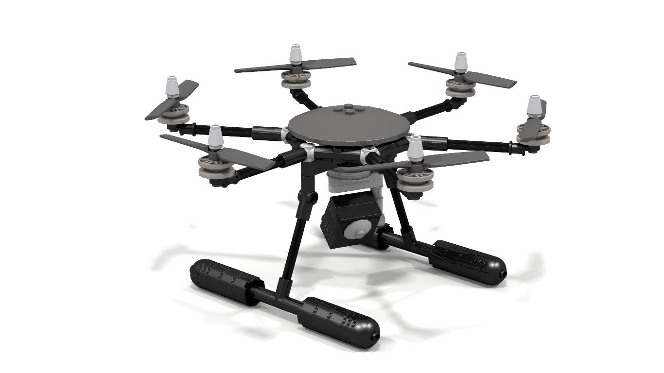 LEGO IDEAS - Product Ideas - Hexacopter Drone