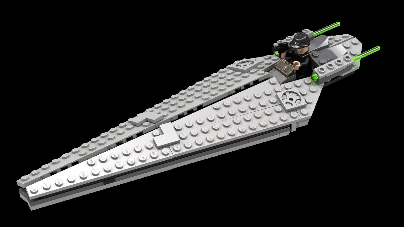 Super Star Destroyer - Microfighter