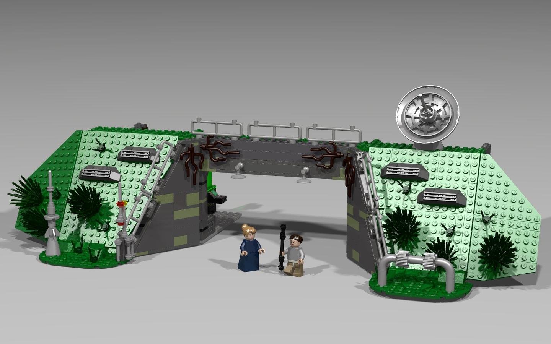 Lego ideas product ideas star wars episode 7 d 39 qar resistance base - Lego star wars base droide ...