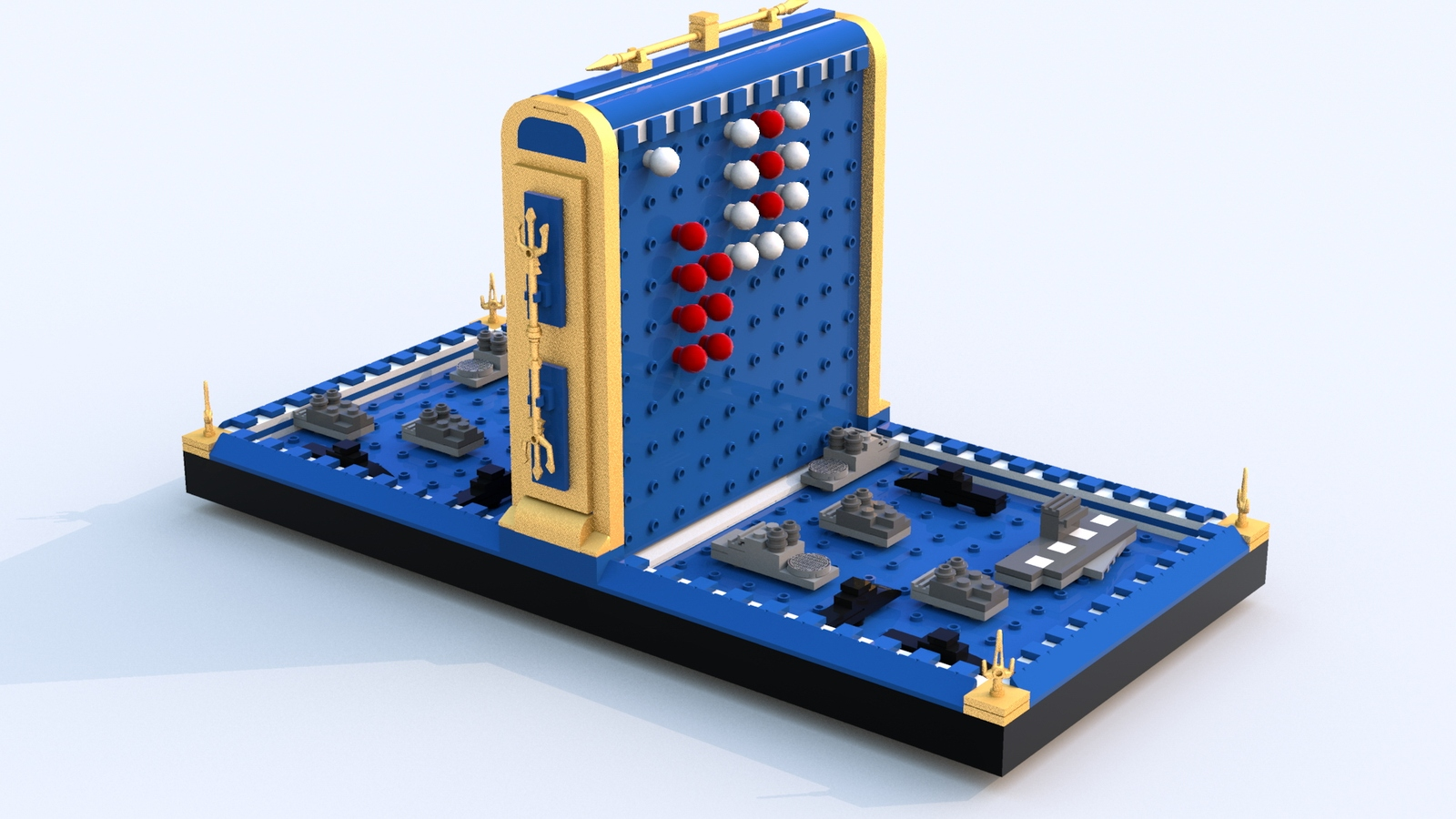 Lego Ideas Product Battleship Classic Board Game Circuit Games