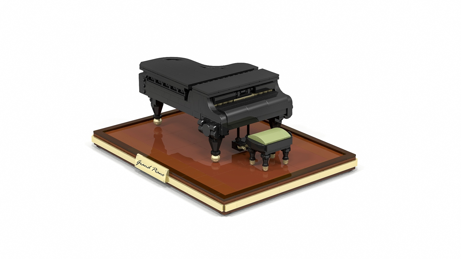 Lego Ideas Product The Grand Piano Keyboard Sustain Pedal Wiring Diagram