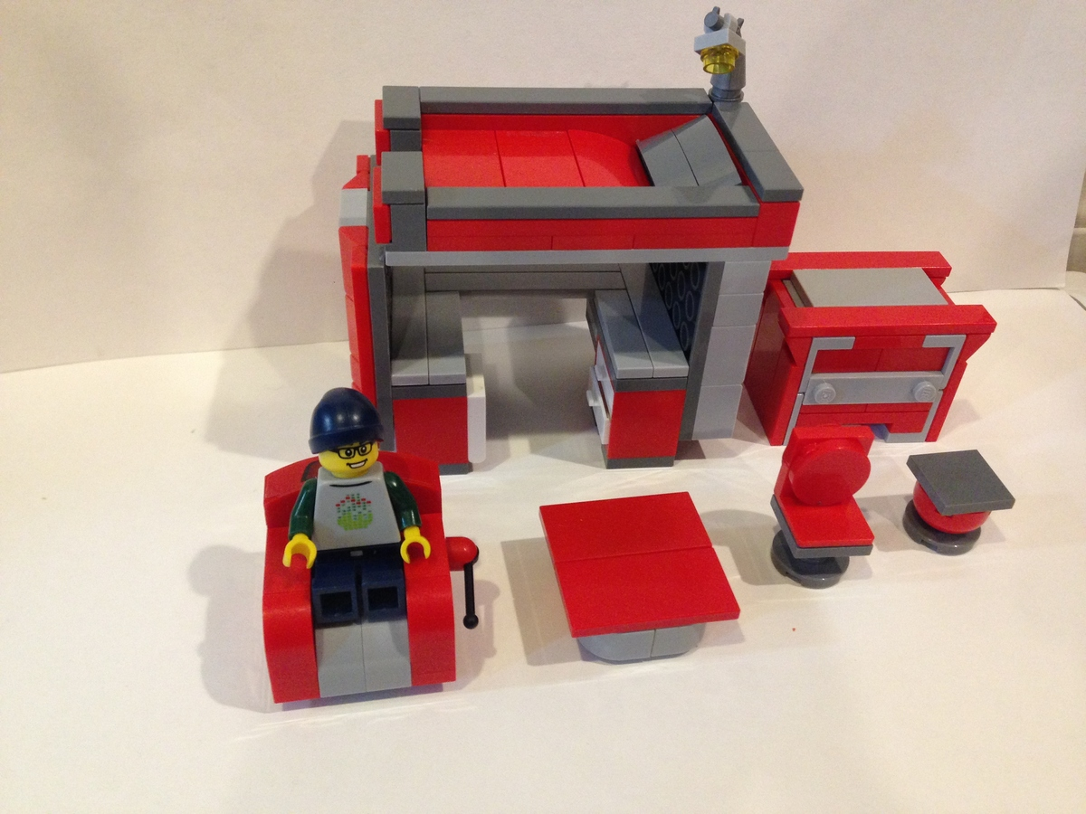 Lego Ideas Product Ideas Detailed Furniture Set Red