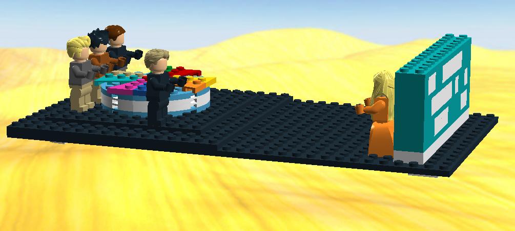 Lego Ideas Product Ideas Wheel Of Fortune Tv Studio