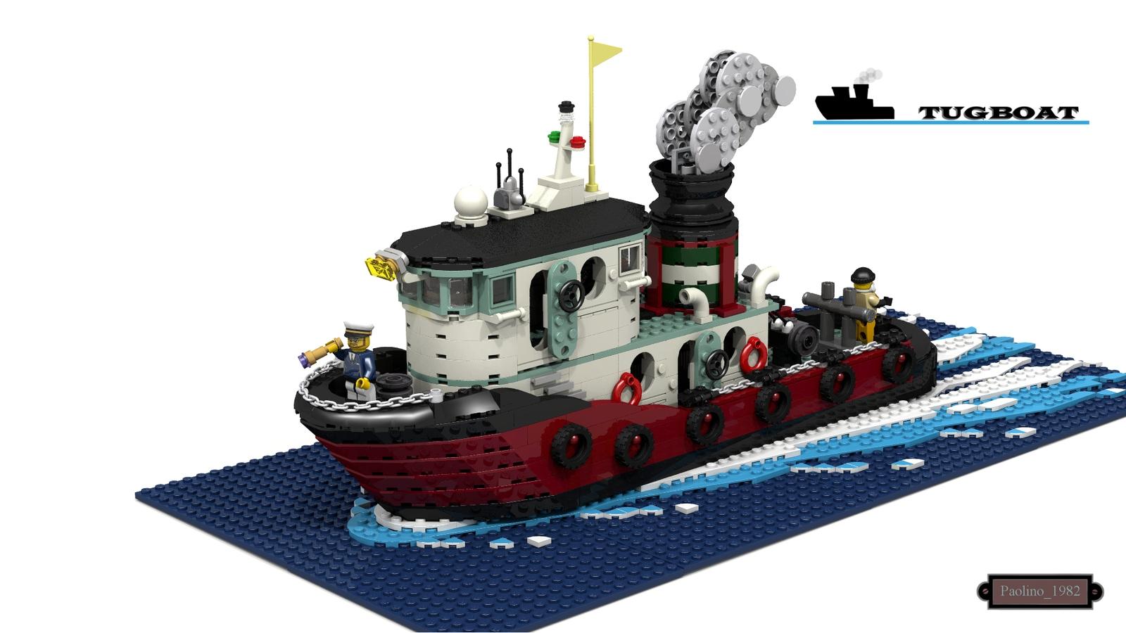 Lego Ideas Product Ideas Tugboat Cerbero