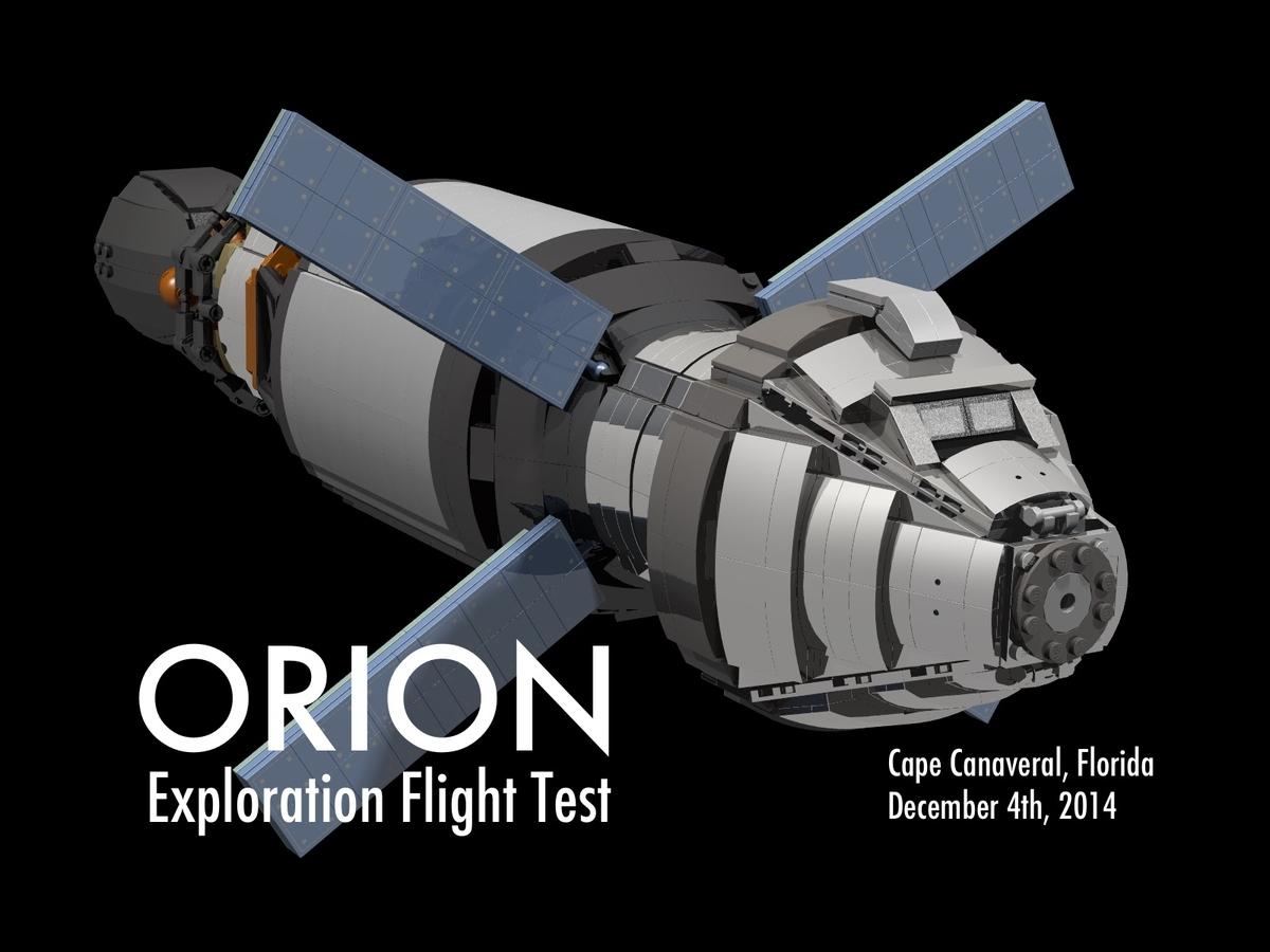 Lego Ideas Product Ideas Orion Spacecraft Test Flight
