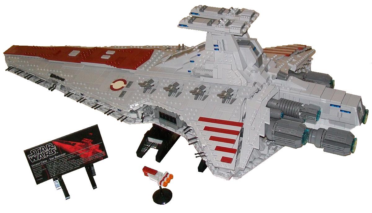 Lego Ideas Product Ideas My Lego Ucs Venator From Star Wars