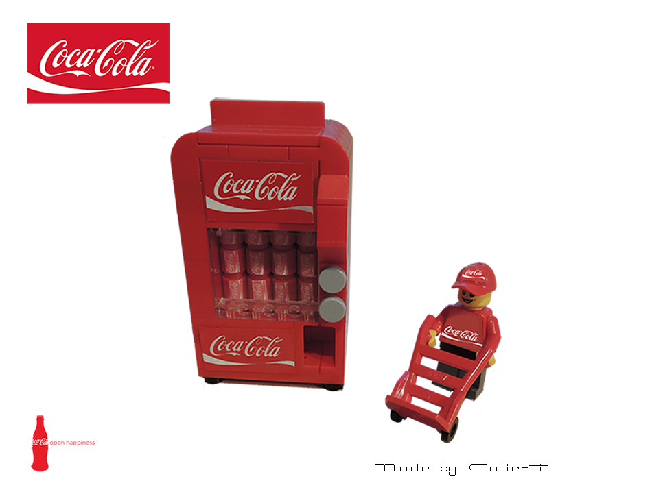 Lego Ideas Product Ideas Coca Cola Vending Machine