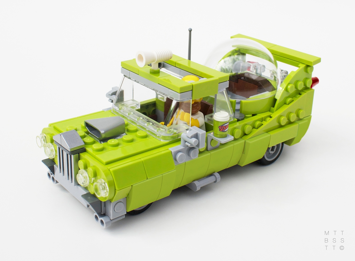 Homer Car: The Car Built For