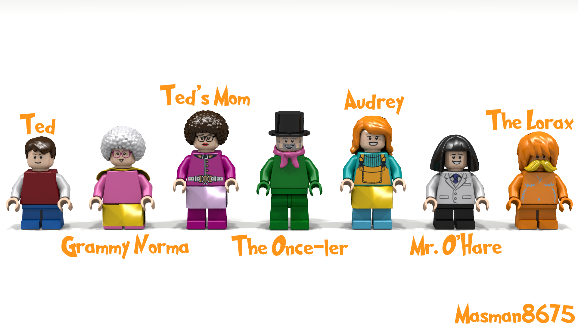 Lego Ideas The Lorax