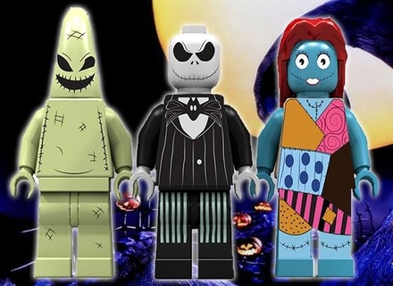 based on the tim burtons the nightmare before christmasbuilt with 1724 bricksthe jacks housewith this impossible shape