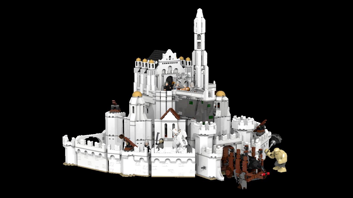 Lego Ideas Product Ideas The Battle For Minas Tirith