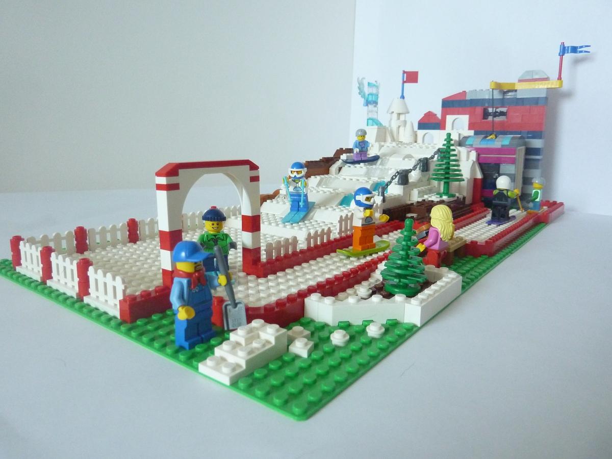 lego ideas - product ideas - downhill ski resort