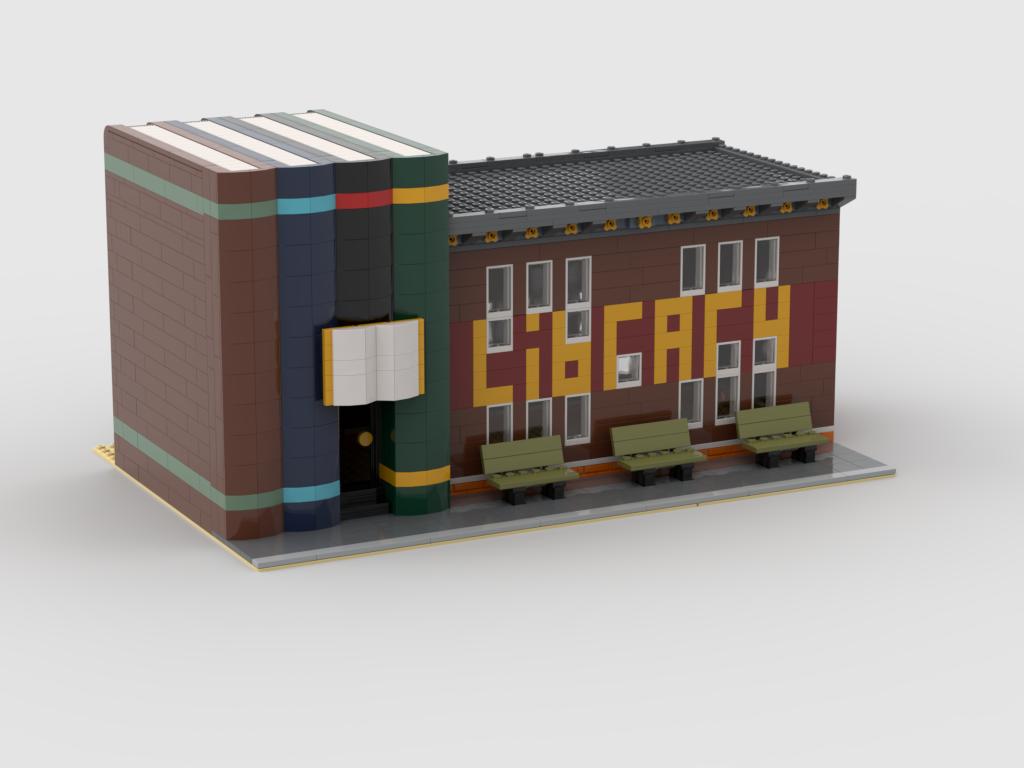 Lego Parking Garage Moc
