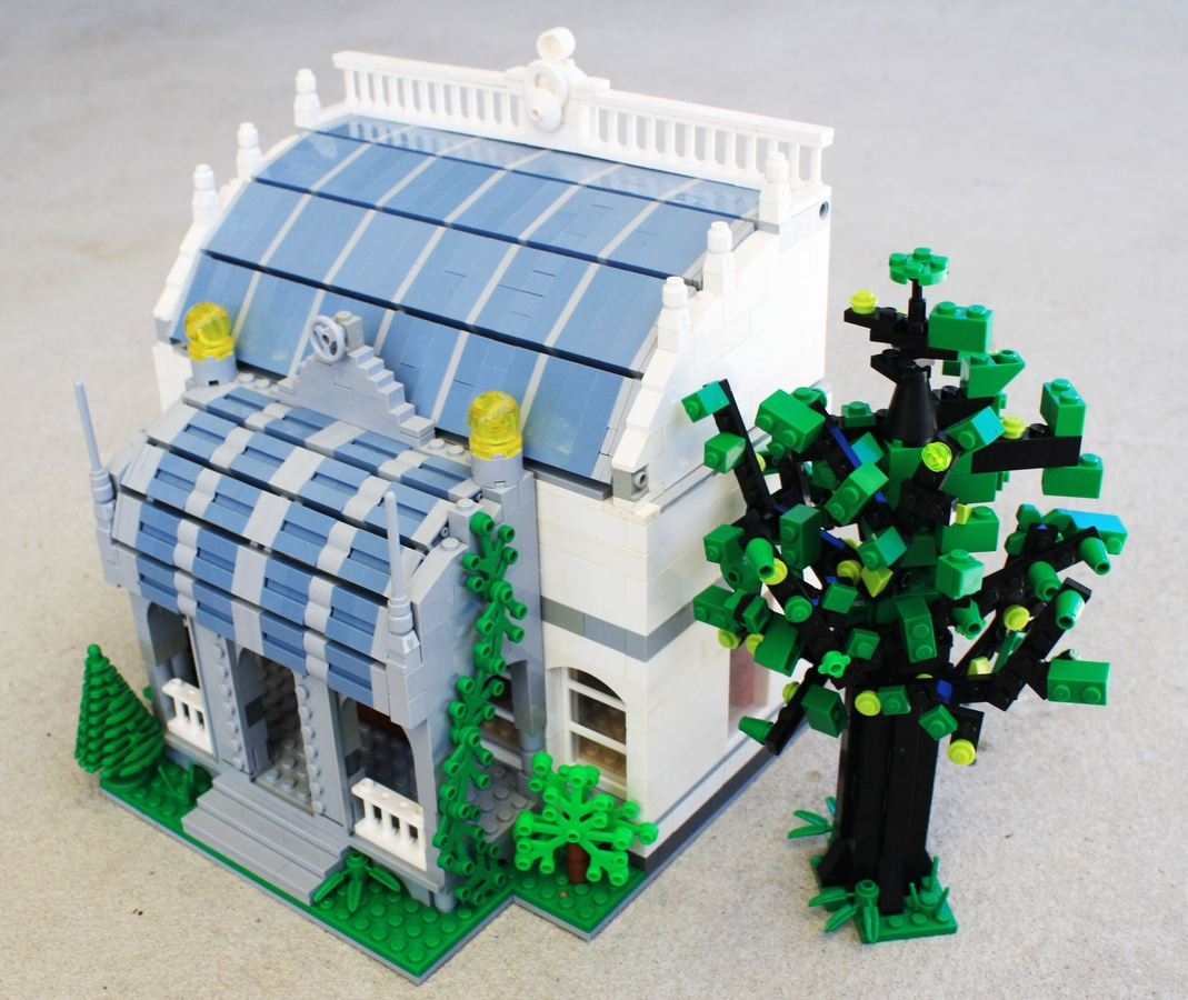 Lego Ideas Product Ideas Curved Roofed Building
