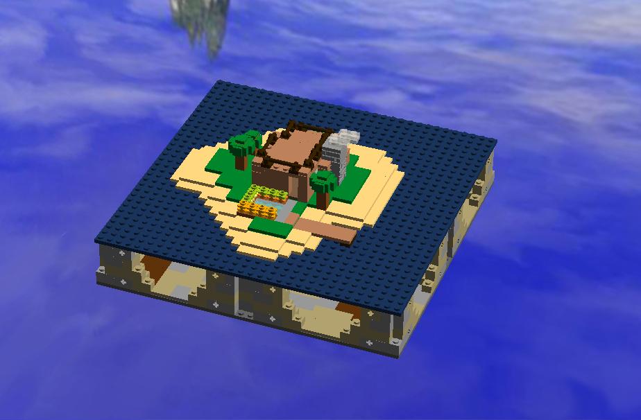 Lego Ideas Product Ideas Minecraft Survival Island