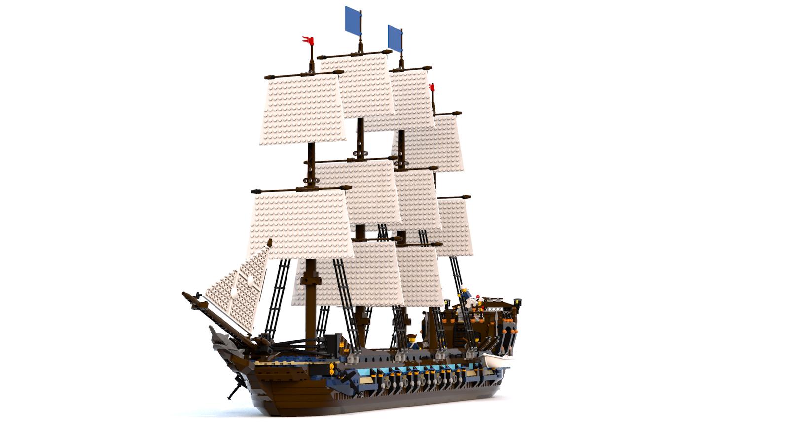 Lego Ideas Product Ideas Lego Imperial Frigate