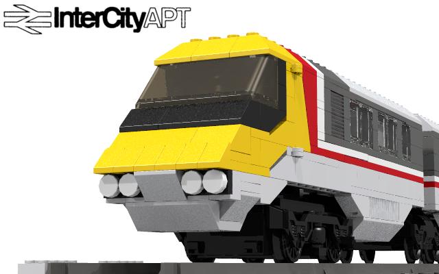 Lego Ideas Product Ideas Advanced Passenger Train With Passive Tilt