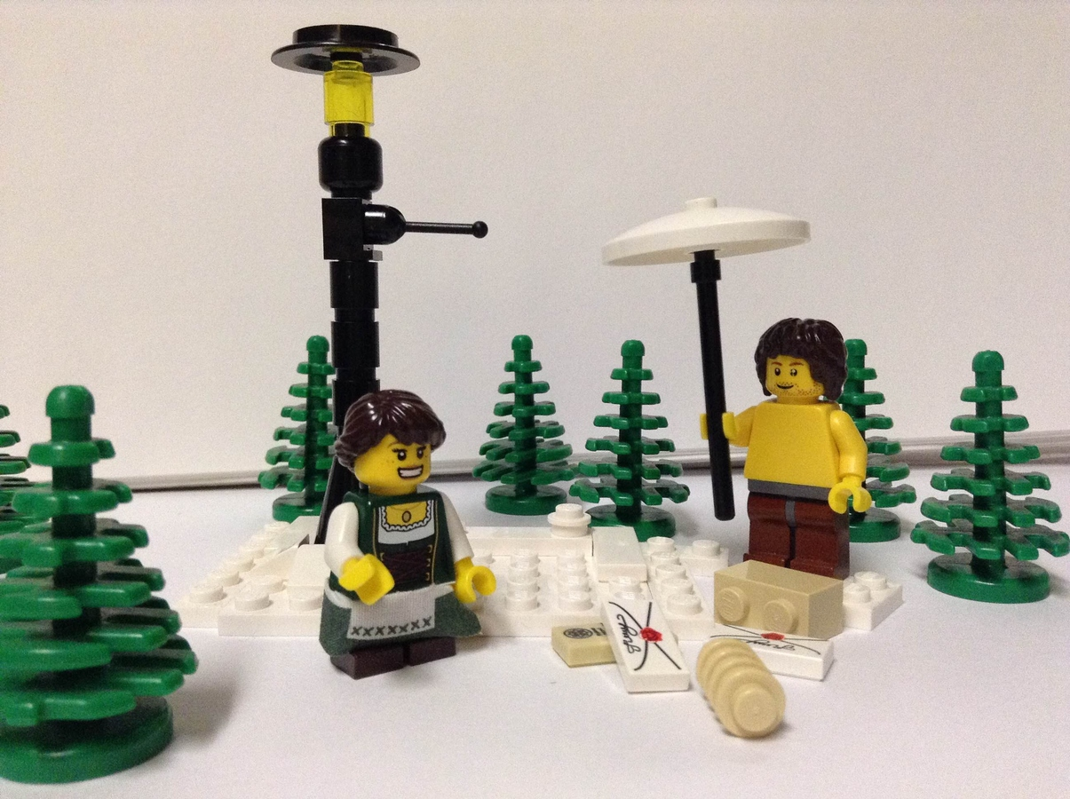Lego Ideas Product Ideas Lucy And Mr Tumnus At The Lamppost