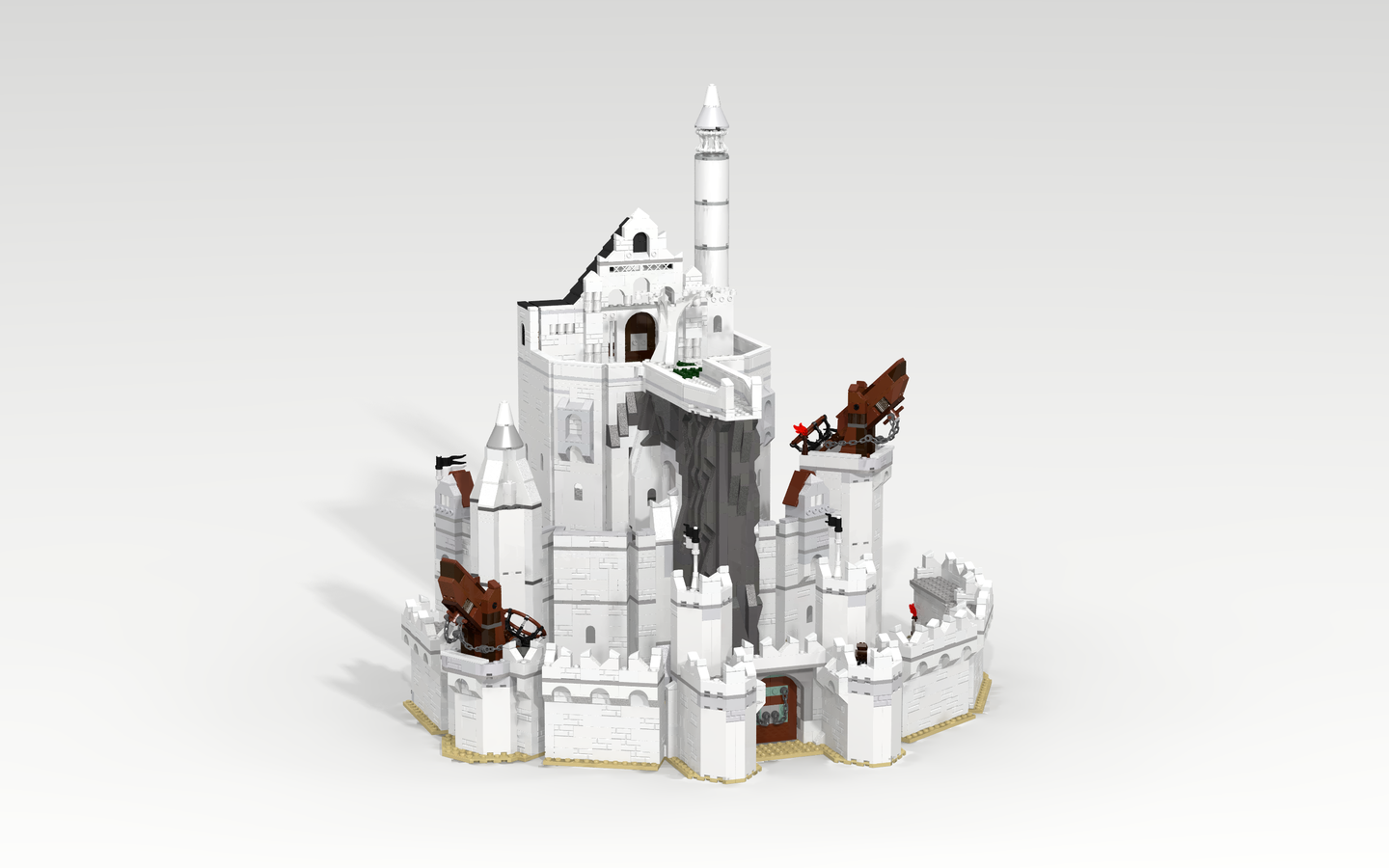 Lego Ideas Product Ideas The Lord Of The Rings The Siege Of
