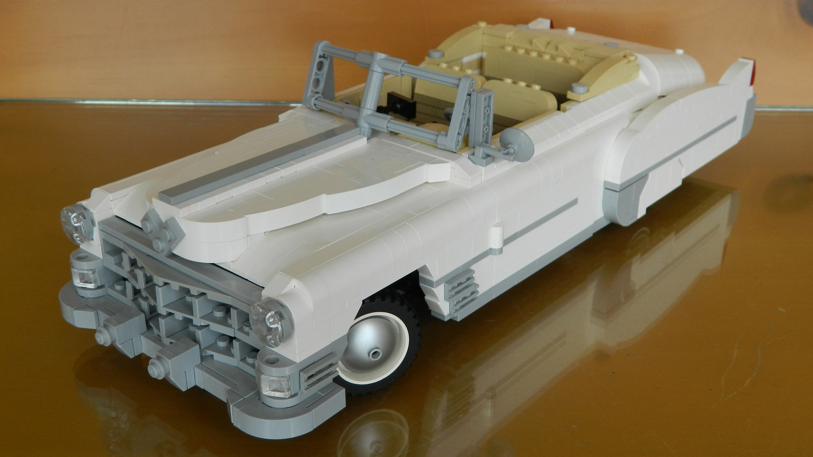 Lego Ideas Product 1949 Cadillac Series 62 Convertible V8 Engine